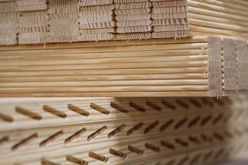 Wood is the best historical material for exterior shutters