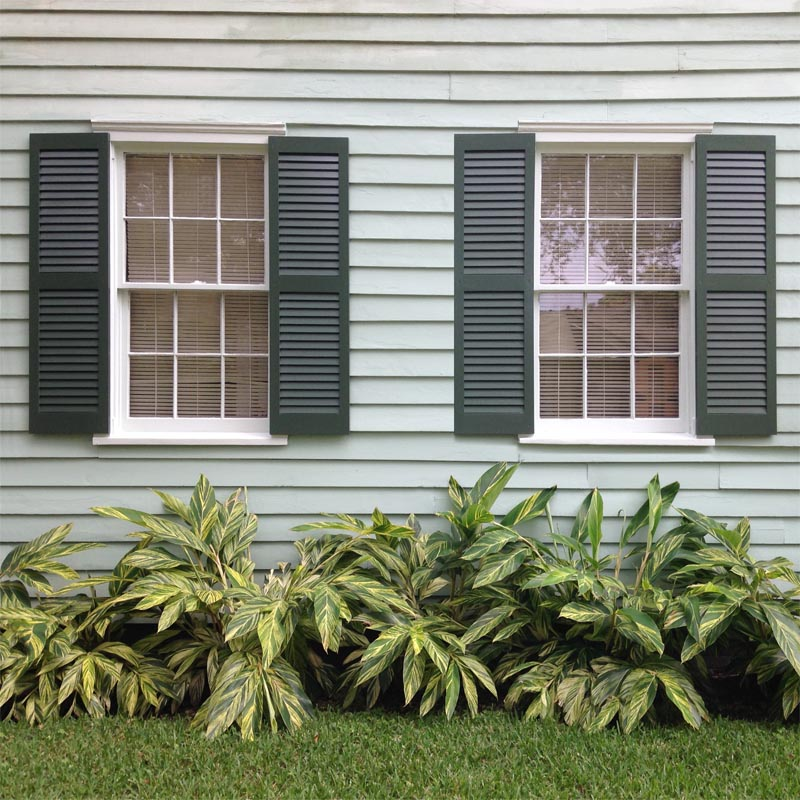 Pine Louvered Shutters From Shutterland Unfinished Primed Or Painted