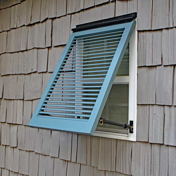 Buy Outdoor Wood Bermuda Shutters Bahama Wide Louvered Exterior Shutters